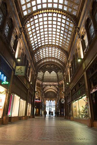 Einkaufspassage in Budapest